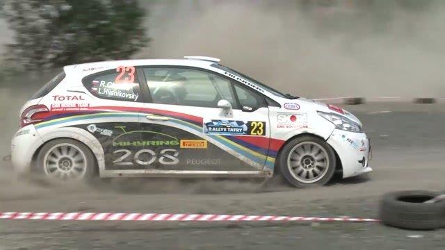 Chyba nás takmer stála víťazstvo v triede na Rallye Tatry