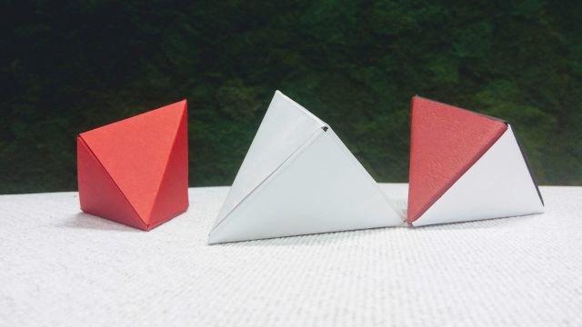 Vyrobte si origami škatuľku