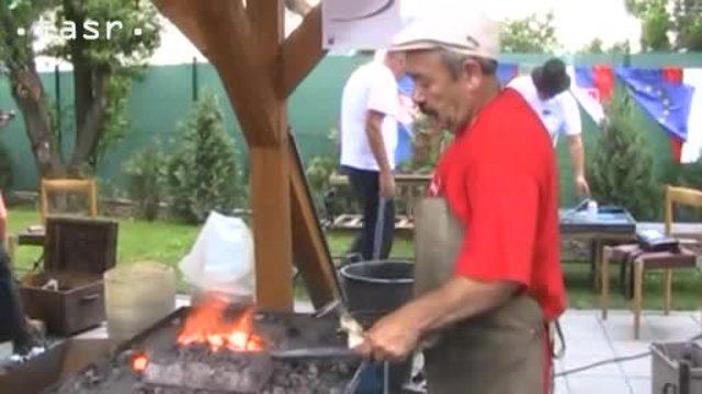 Na Európskom Rómskom kováčskom sympóziu predstavili rôzne tradičné remeslá