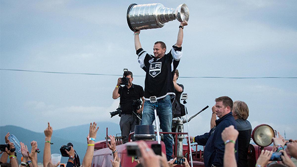 Gáborík priniesol Stanley Cup na hlavné pódium Pohody