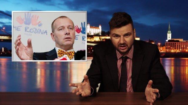 Ťažký týždeň s Janom Gorduličom: O koalícii Kotlebu s Kollárom a volebnom programe Donalda Trumpa