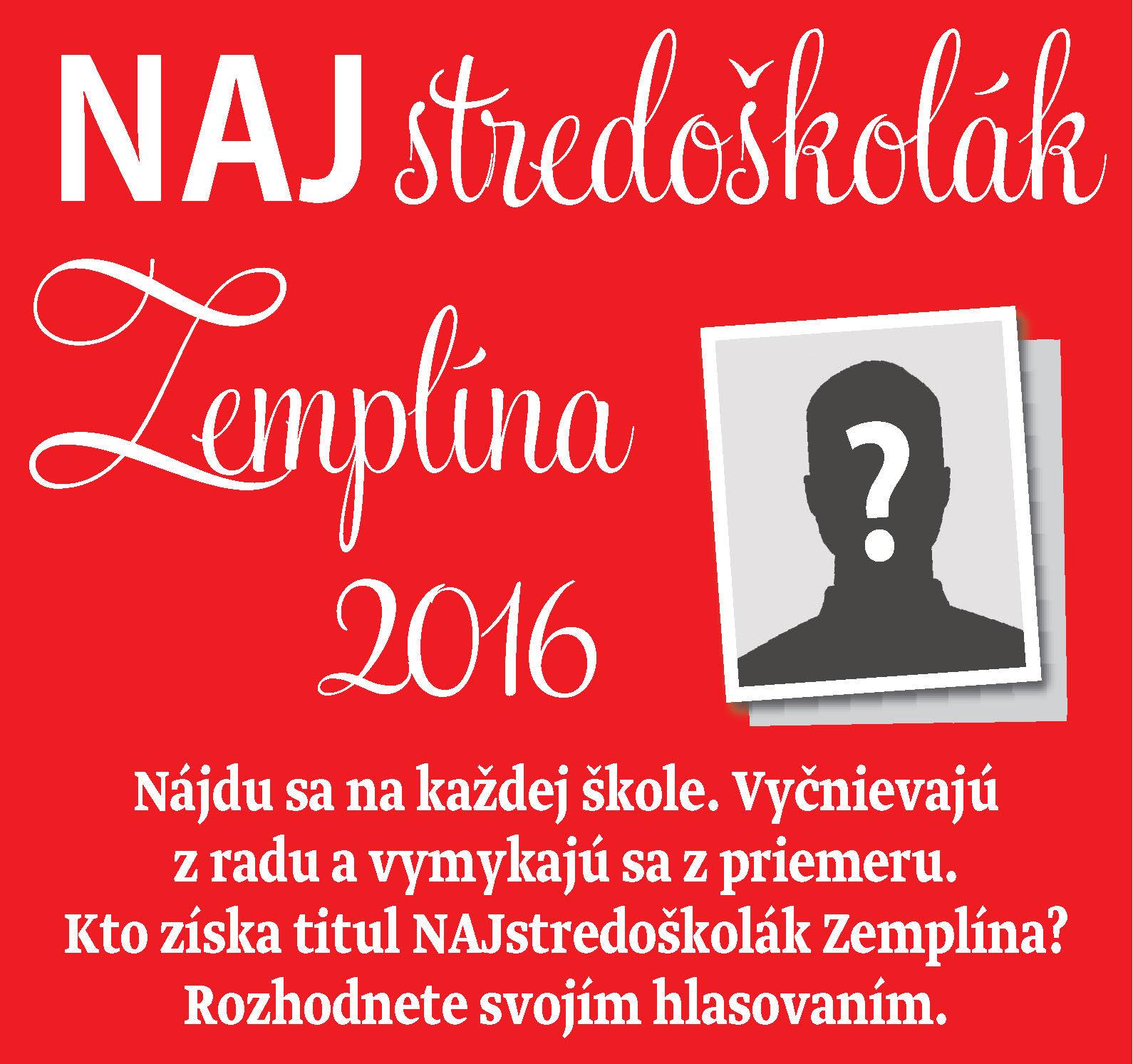 Najstredoškolák Zemplína 2016