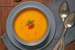 Batatová polievka so zázvorom