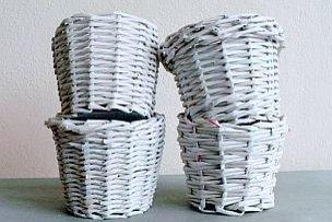 Ako pliesť z papiera?