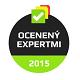 Ocenený expertmi Najlepšie produkty 2015