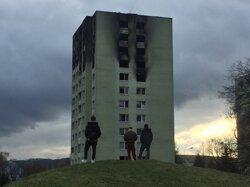 Tragický výbuch a požiar v prešovskej bytovke