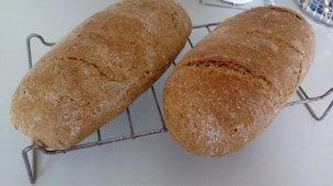 Celozrnný pšenično-ražný chlieb