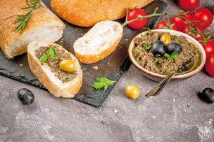 Olivová pasta s tymianom