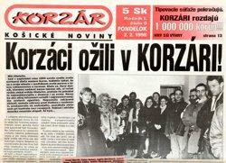 20 rokov Korzára