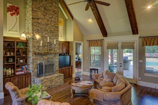 Murovaná pec zvyšuje akumuláciu stavby