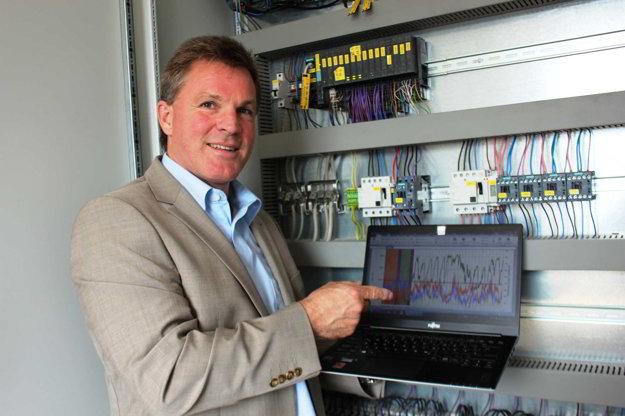 Dr. Jürgen Lorenz, vedúci oddelenia výskumu a vývoja Baumit