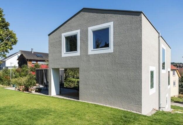 Rodinný dom Nöttingen Nemecko, architekt Carmen Dennig.